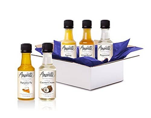 Prime Members: Amoretti Syrup Sample Box + $10 Credit for Future Purchase  $10 & More + Free S&H