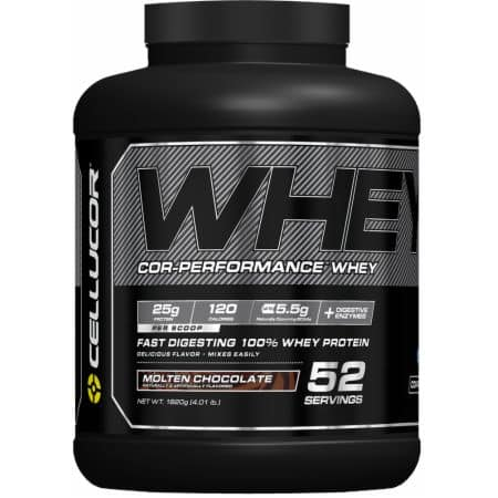 8lb Cellucor Cor-Performance Whey Protein Powder (Various)  $60.40