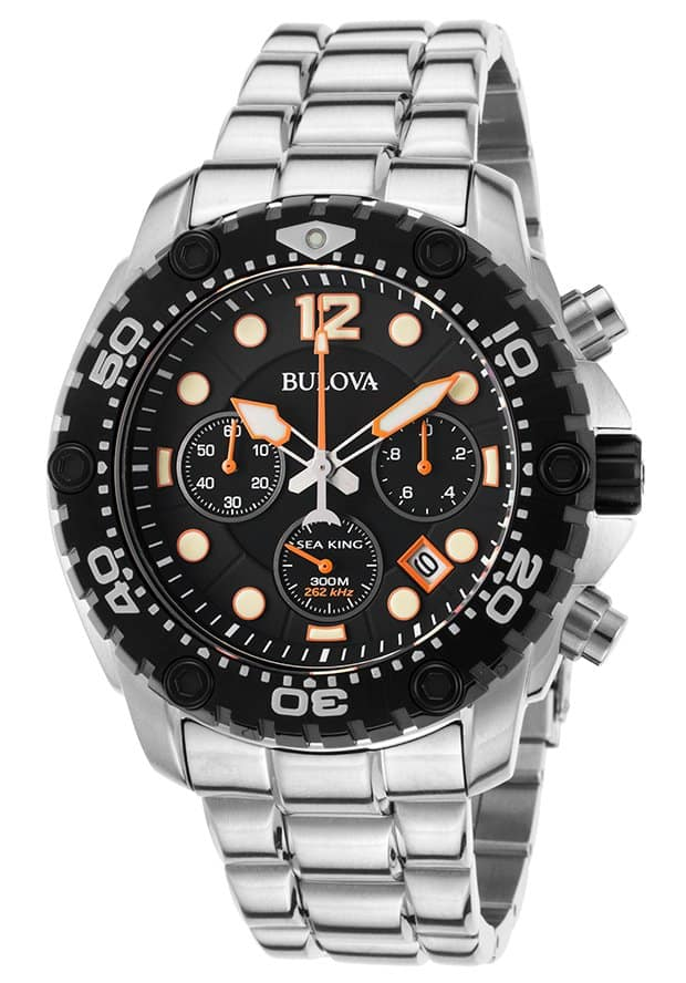 Bulova Men's Watches: Precisionist Chronograph $234, Sea King Chronograph $215 & More + Free S&H