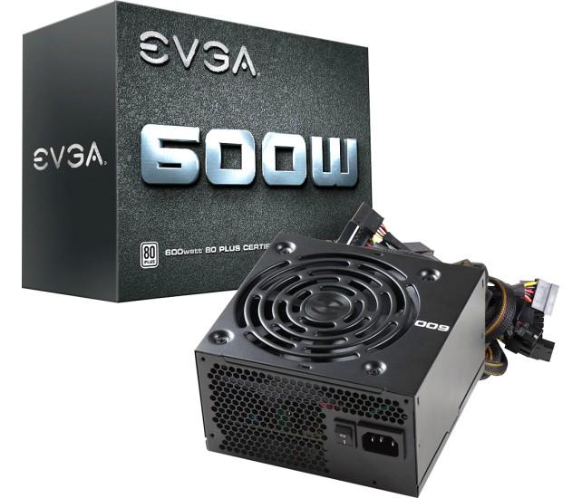 EVGA 600W 80+ Certified ATX Power Supply  $30 + Free Store Pickup
