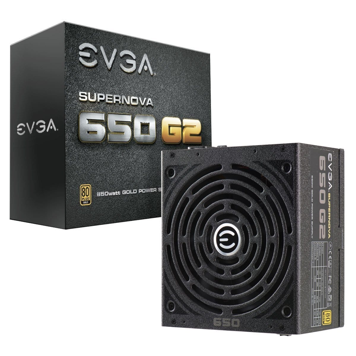 EVGA 650W SuperNOVA 80 Plus Gold ATX Power Supply  $70 after $10 Rebate + S/H