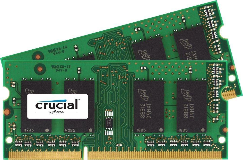 Crucial 16GB Kit (8GBx2) DDR3L 1600 SODIMM RAM Memory  $43.15; Free Shipping.