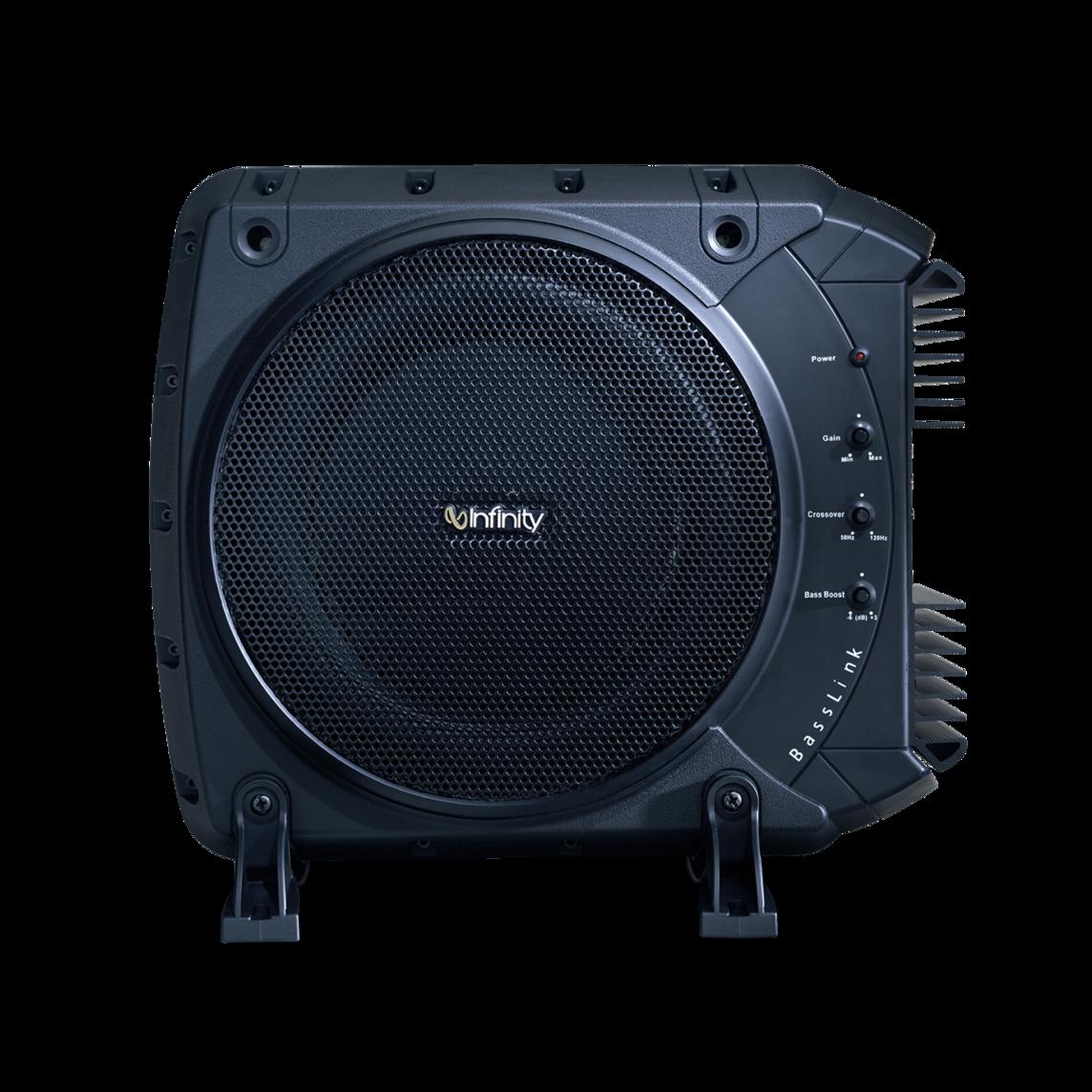 Infinity BassLink (Recertified) 200-Watt Powered Car Subwoofer $99, JBL GT-Basspro 12 (Recertified) High-Output Car Subwoofer Enclosure $100 + Free Shipping!