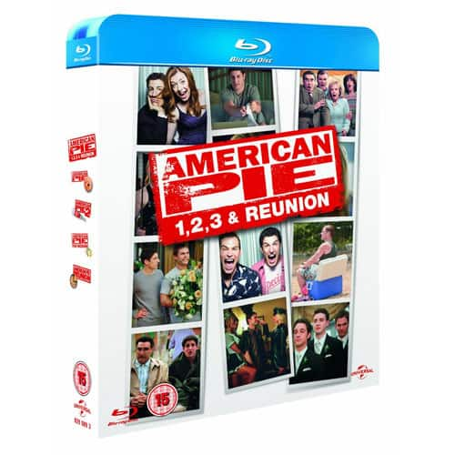 American Pie 4 Movie Collection Blu-ray- $9.99