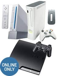 Pre-Owned PS3 slim,Xbox 360, and Nintendo wii all 3 for $159.99