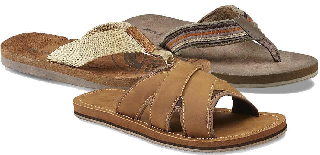 Dickies or Dockers Men's Flip-Flops 3-Pair for $20 + Free Store Pickup at Sears ($6.67 each when you buy 3)