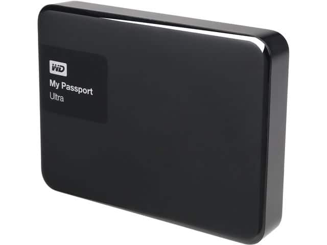 WD 2TB Black My Passport Ultra Portable External Hard Drive - USB 3.0 - WDBBKD00 $61 AC + Free Shipping!