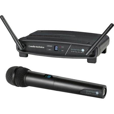 Audio-technica Wireless Systems: ATW-1102 mic + receiver or Stompbox System for Guitarists $185 each + free shipping