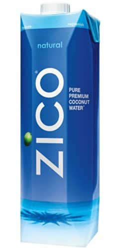 ZICO Premium Coconut Water, Natural, 33.8 fl oz (Pack of 6) - $12.55 w/S&S and coupon, (As Low As - $10.76)