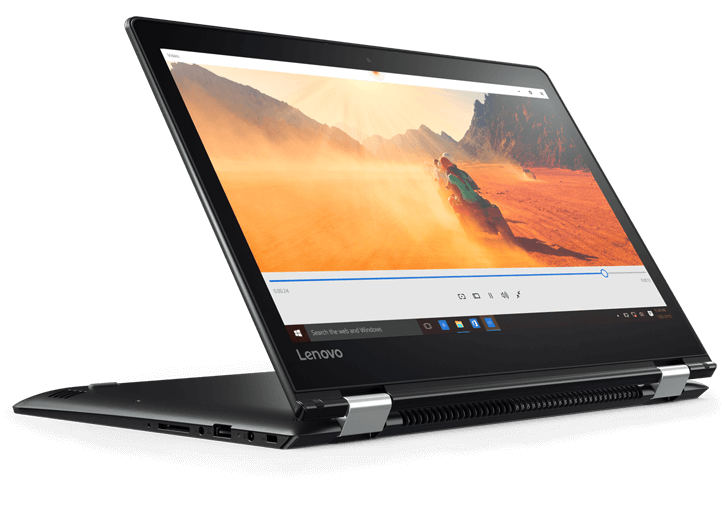 "Lenovo Flex 4 14"" 1080P IPS Touch, Core i7-6500U, 16GB DDR4, AMD M430 2GB, 256GB SSD, Backlit Keyboard @ $770 at Lenovo"