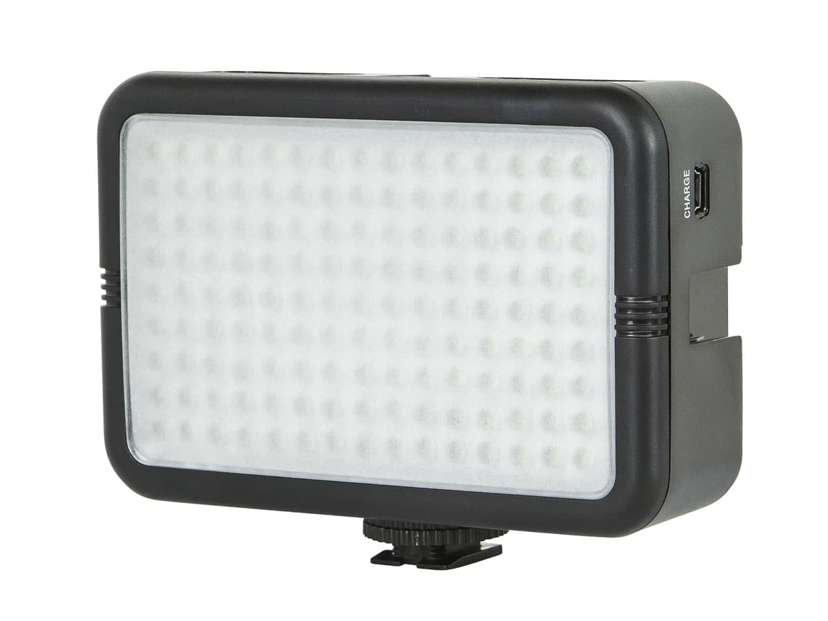 Monoprice 960 Lumens 135 LED Light w/ Hotshoe Mount (For SLR, Camera or Tripod) $8.99 + Free Shipping