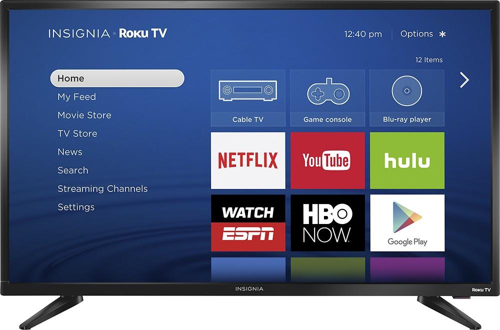 """Insignia 32"""" Smart Roku TV - $119.99 + FS"""