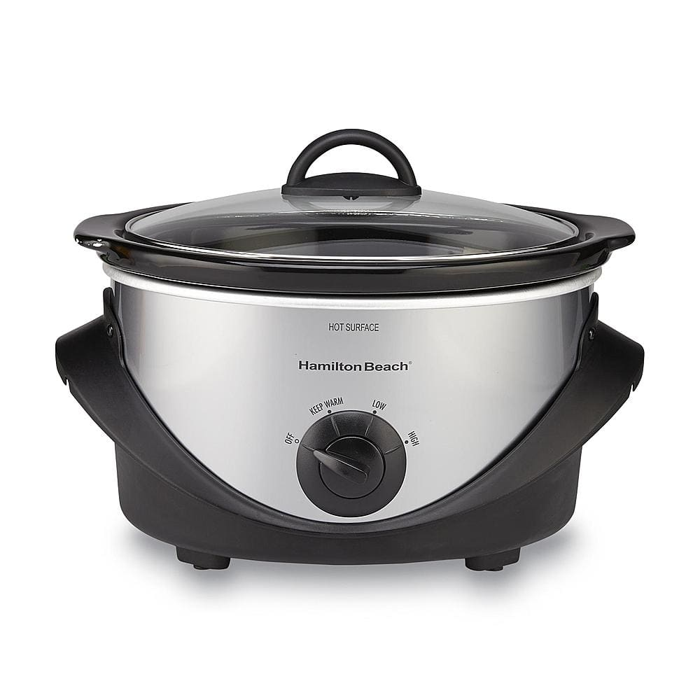 SYW Members: 4-Qt Hamilton Beach Slow Cooker + $5 SYWR Points  $10 + Free Store Pickup