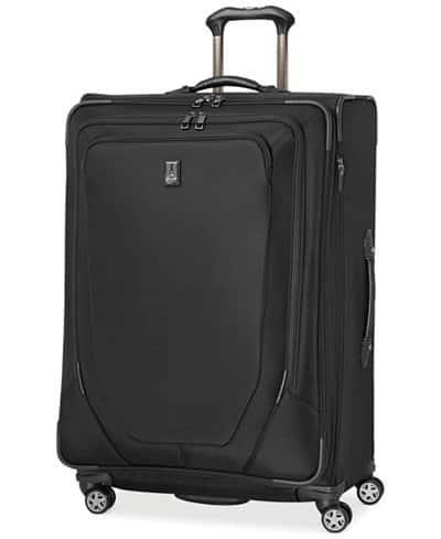 "29"" Travelpro Crew 10 Expandable Spinner Suitcase  $84 + Free Store Pickup"