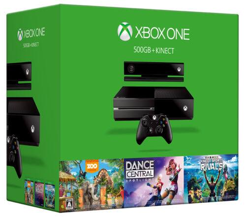 500GB Xbox One Console w/ Kinect + 3 Games $230 + Free Shipping