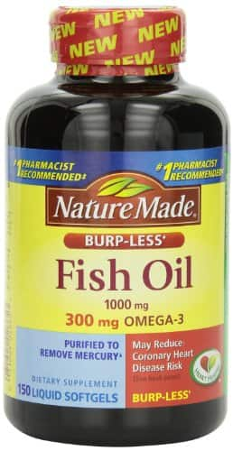 Prime Day Deal - PRIME S&S Nature Made Burp-less Fish Oil, 1000 Mg, 300 mg Omega-3, 150 Liquid Softgels - $4.75@15% or $5.54@5% - Lower than Previous FP Deal