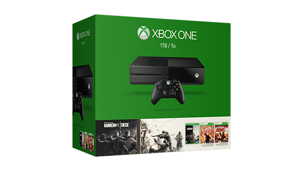 1TB Xbox One w/ 5 Games + Extra Controller + $50 Microsoft GC  $299 & More + Free S&H