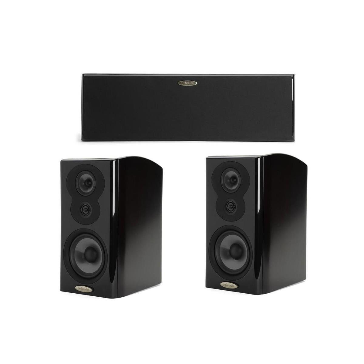 Polk LSI Bundles: M706 Center + 2x M703 Bookshelf Speakers  $1350 & More + Free S&H