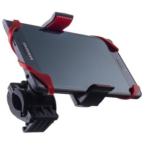 """Liger Universal """"SuperGrip"""" Bike Mount Handlebar Holder For Smartphones (Red) - $4.99 + FS"""