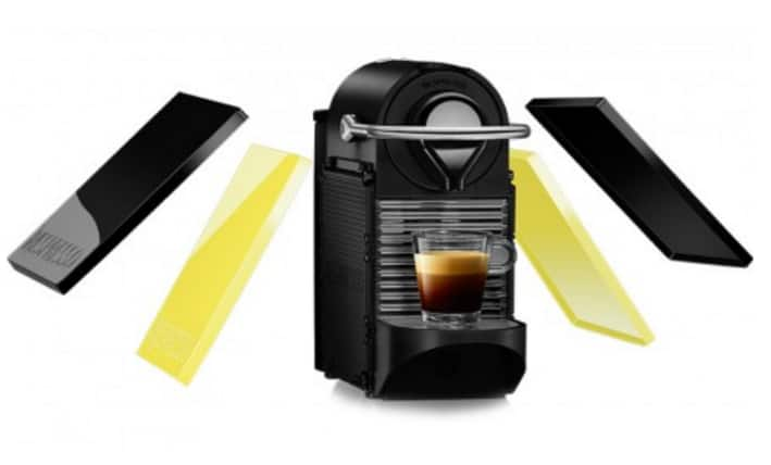 Nespresso Pixie C60 Espresso Machine (Black) w/ Interchangeable Panels $99 + Free Shipping!