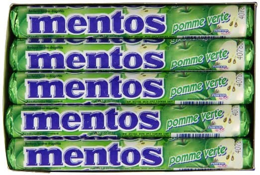 15-Pack 1.32oz Mentos Rolls (Green Apple)  from $7.70 + Free Shipping