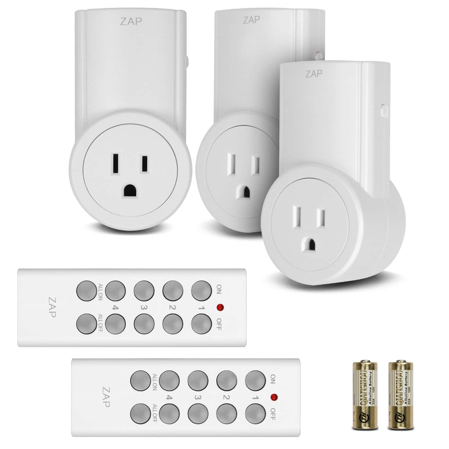 3-Pack Etekcity Wireless Remote Control Outlet Light Switch  $17