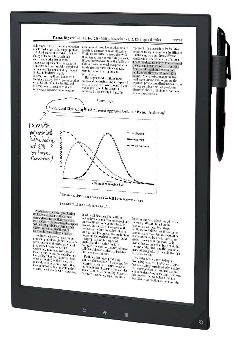 """13.3"""" Sony DPTS1 Digital Paper System  $600 + Free Shipping"""