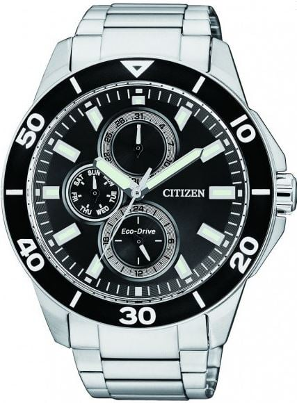 Citizen Men's Eco-Drive Watch (Black Dial)  $101