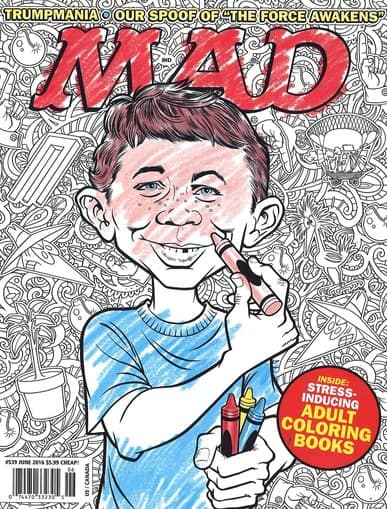 MAD Magazine, 3 yrs for $25