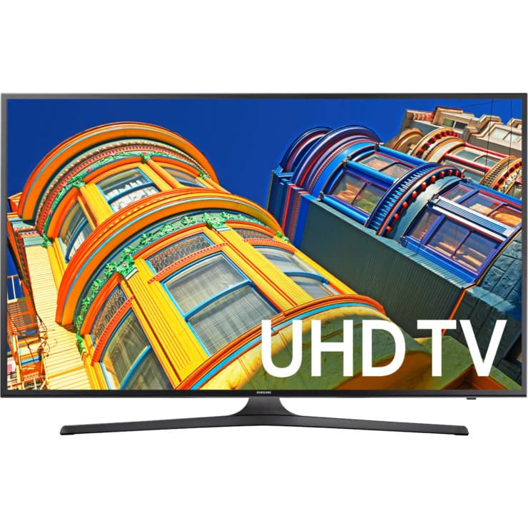 "Samsung UN65KU6300FXZA 65"" 4K with HDR Ultra Smart HDTV + $400 GC for $1400 + FS @ Dell"
