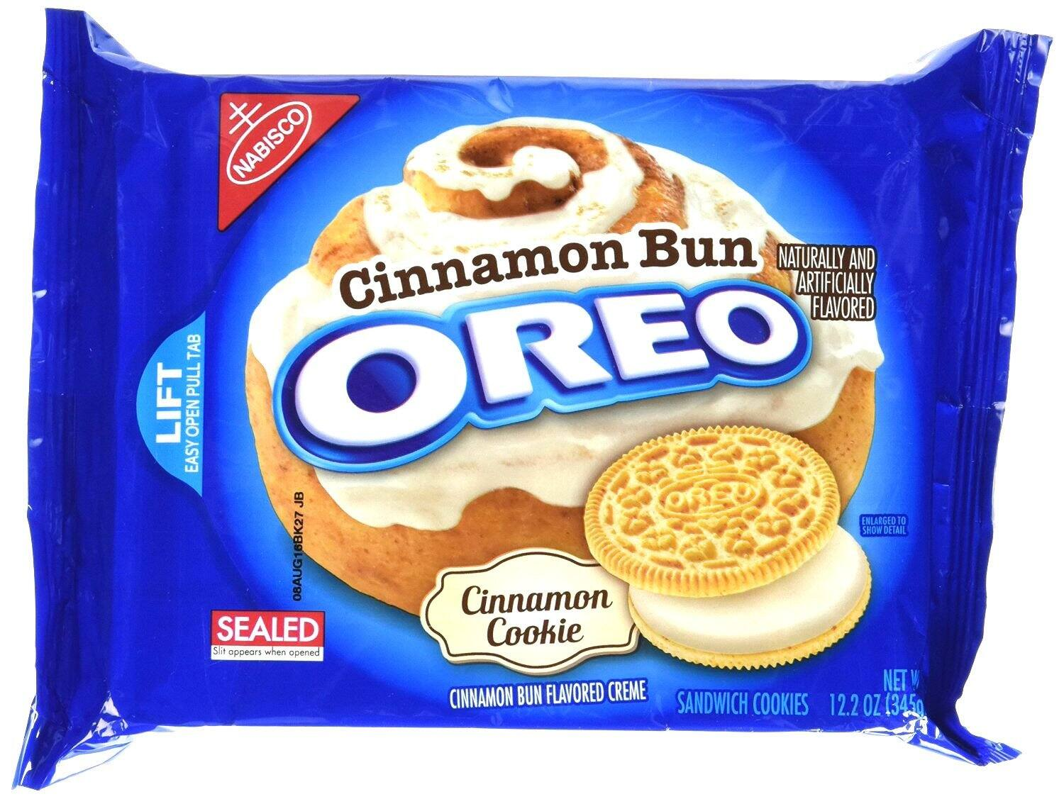 Oreo Cinnamon Bun Cookies 12.2 oz. Package as low as $2.12 w Subscribe & Save 15% Discount @ Amazon