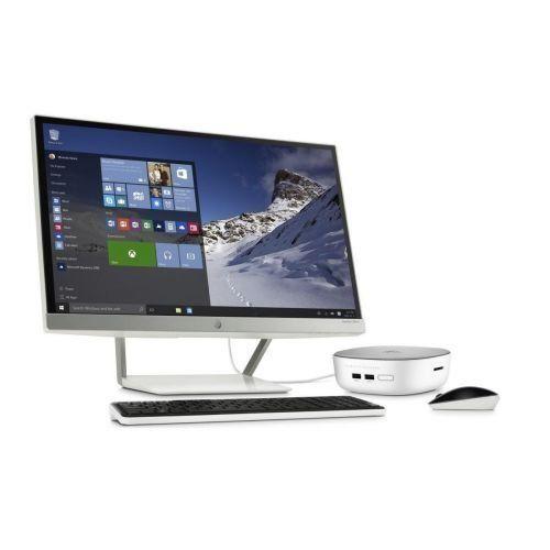 """HP Pavilion Mini PC Desktop Computer - Intel 3805U 1.90 GHz - 4GB DDR3L - 1TB HDD - Intel HD Graphics - 2.09 GB - DDR3L SDRAM Graphics - Win 10 w/ 23"""" Monitor $300 + Free Shipping"""