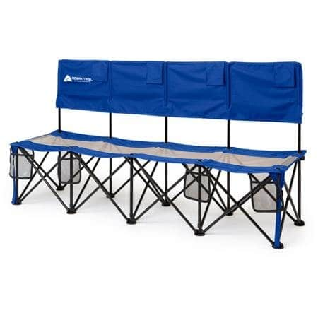 4-Person Ozark Trail Convertible Bench/Table (225 lb Capacity/Each, Blue) $19 + Free Store Pickup Walmart.com
