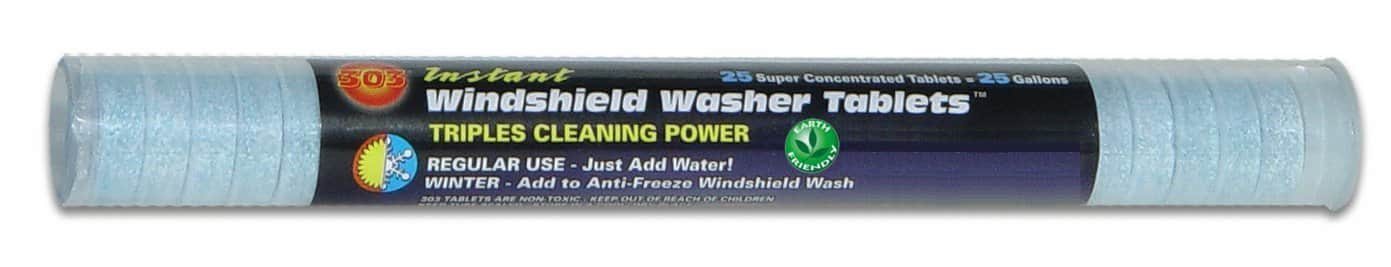 25-Count 303 Windshield Washer Tablets  $7.40 + Free Shipping
