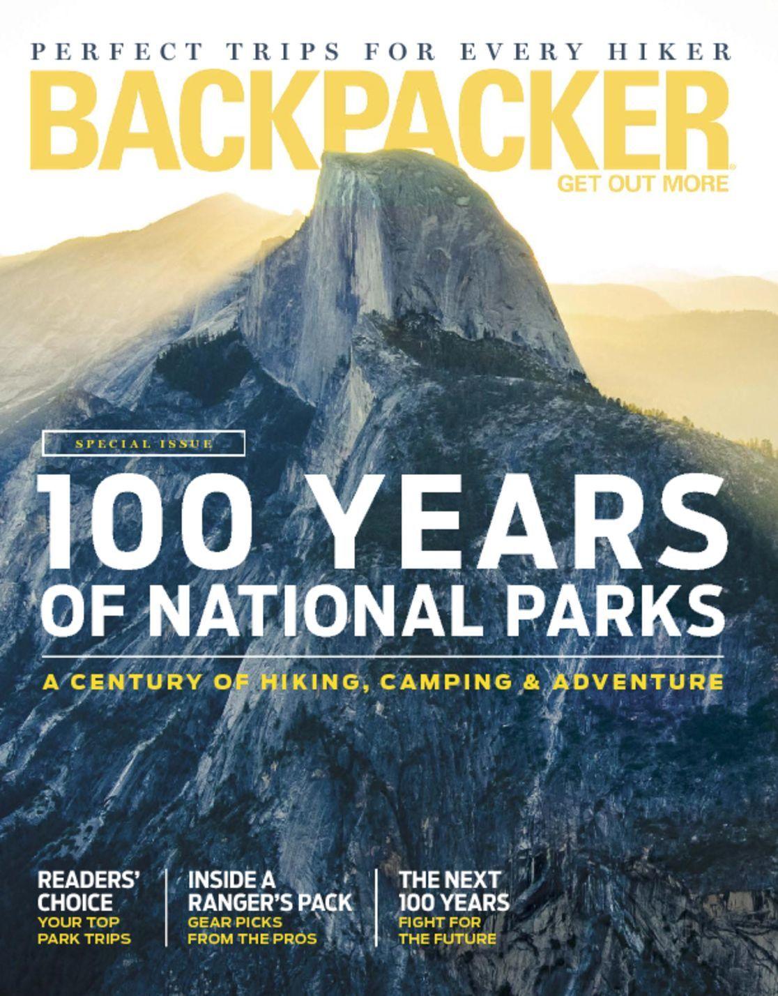 Backpacker $4.99/yr, Outside $4.99/yr, Climbing $5.99/yr