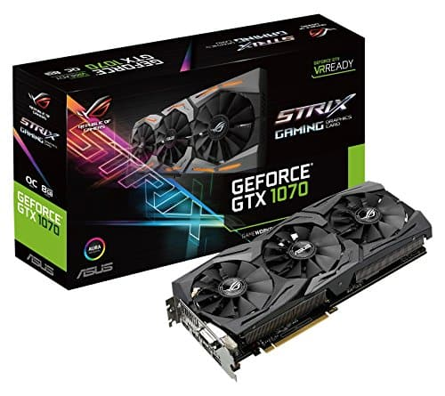 New Jet Customers: ASUS GeForce GTX 1070 8GB Video Card  $384 or Less + Free S&H