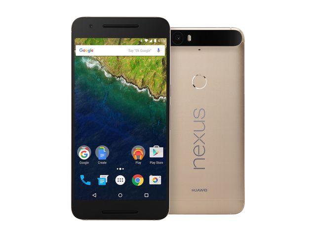 64GB Huawei Nexus 6P Unlocked Smartphone (Matte Gold) + $25 Newegg GC + Selfie Stick + Case $426.55 + Free Shipping