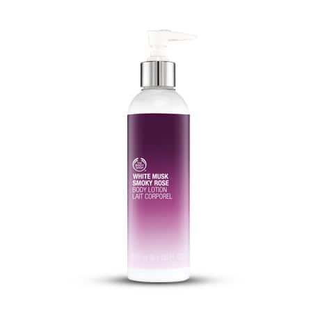 The Body Shop: Up to 75% off Sale: 8.4oz White Musk Smoky Rose Body Lotion  $7 & More + Free S&H