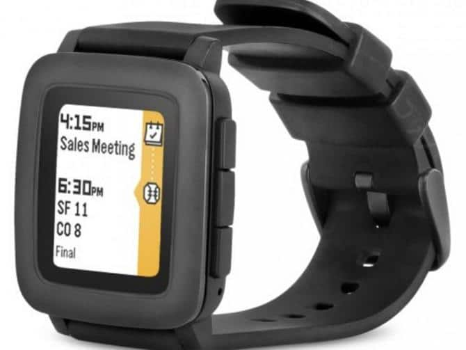 Pebble Time (refurb) smartwatch $60 + Free Shipping