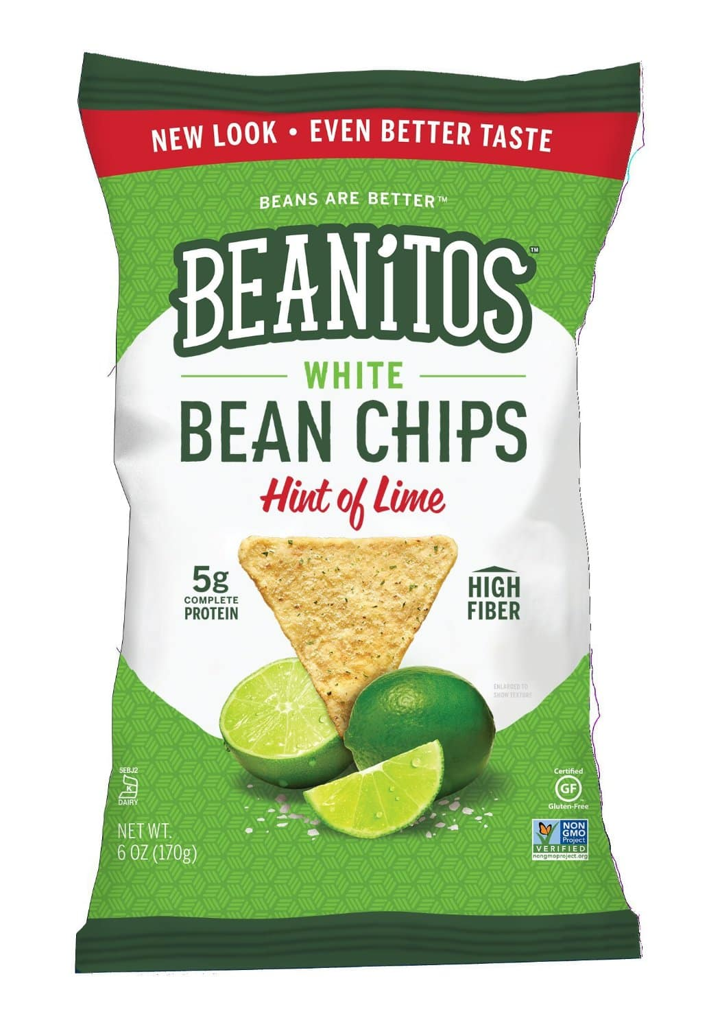 6-Pack 6oz Beanitos Chips (Restaurant Style White Bean and Sea Salt) $7.52 or less & more + free shipping