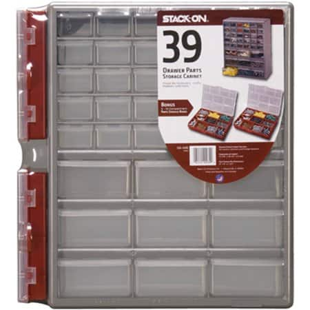Stack-On 39-Drawer Storage Cabinet + 2x Storage Boxes  $12.90 + Free Store Pickup