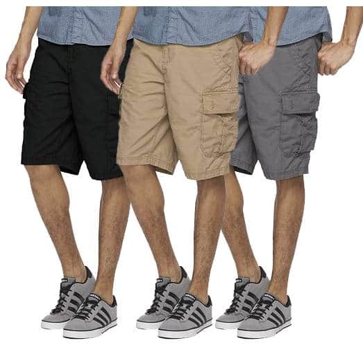 Kohl's Cardholders: Men's Urban Pipeline Ripstop Cargo or Flat Front Shorts  3 for $24.50 + Free Shipping