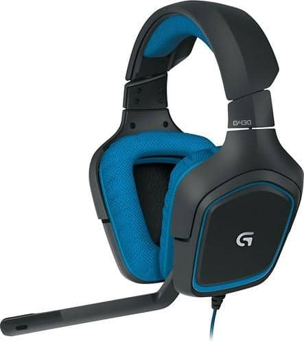 Logitech G430 Over-the-Ear Gaming Headset  $40 + Free Shipping