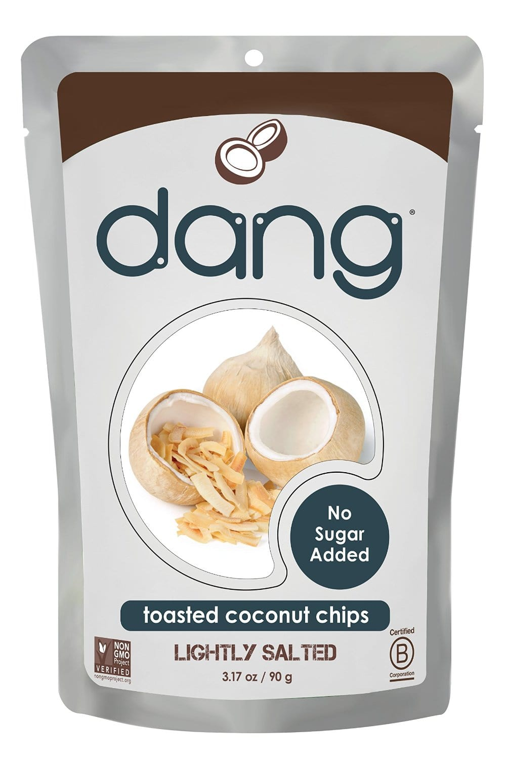 3.17oz Dang Gluten Free Toasted Coconut Chips (Lightly Salted)  $2.55 + Free Shipping