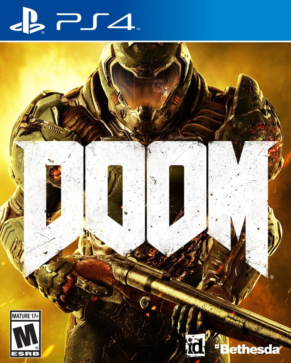 DooM (PS4 or Xbox One) on Amazon for $19.99 plus tax, Prime Eligible