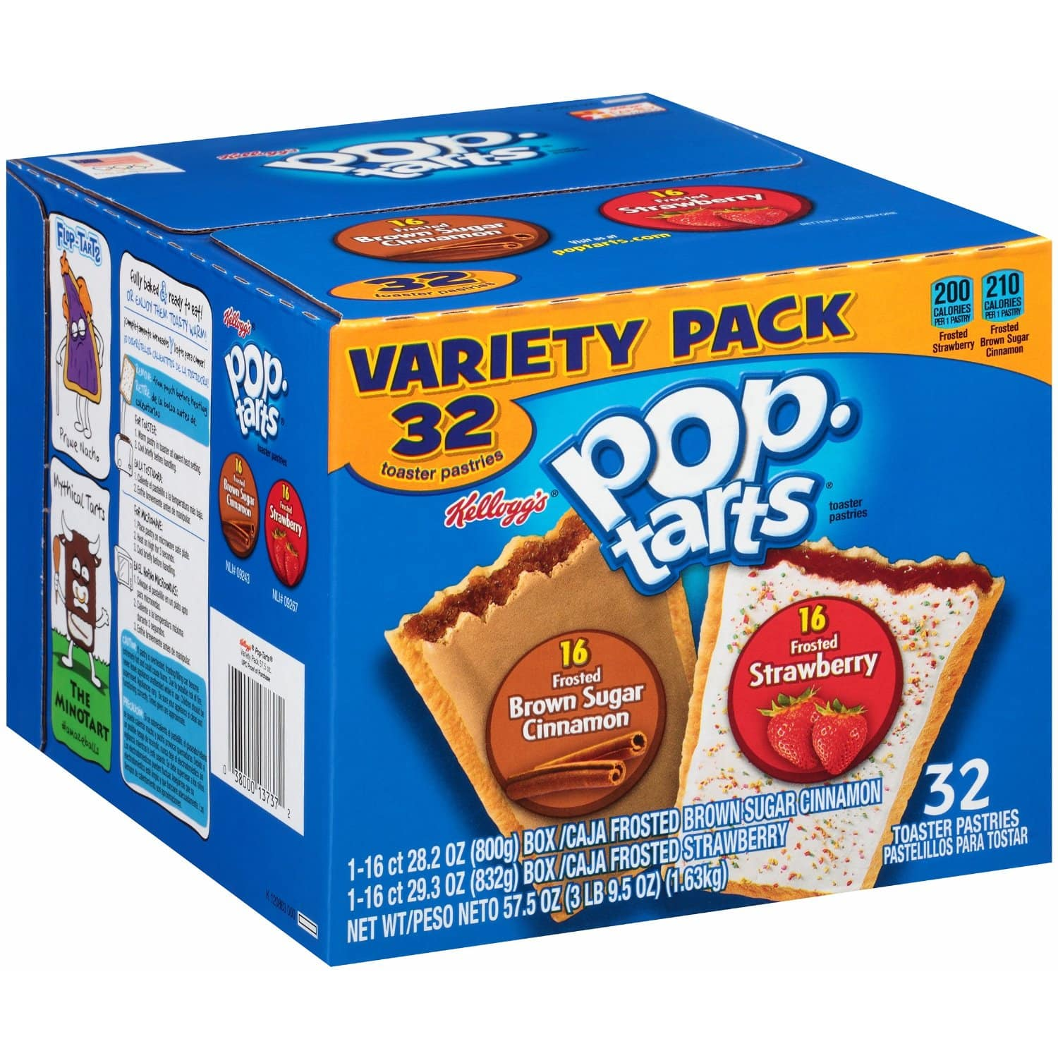 32 Count-Pop-Tarts, Variety Frosted Strawberry and Frosted Brown Sugar Cinnamon After Coupon $4.20 + S&S + FS @Amazon