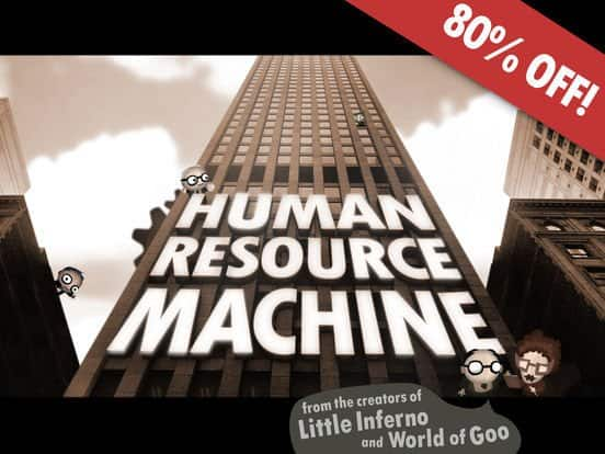 Human Resource Machine or Prune for iOS $0.99 Each & More