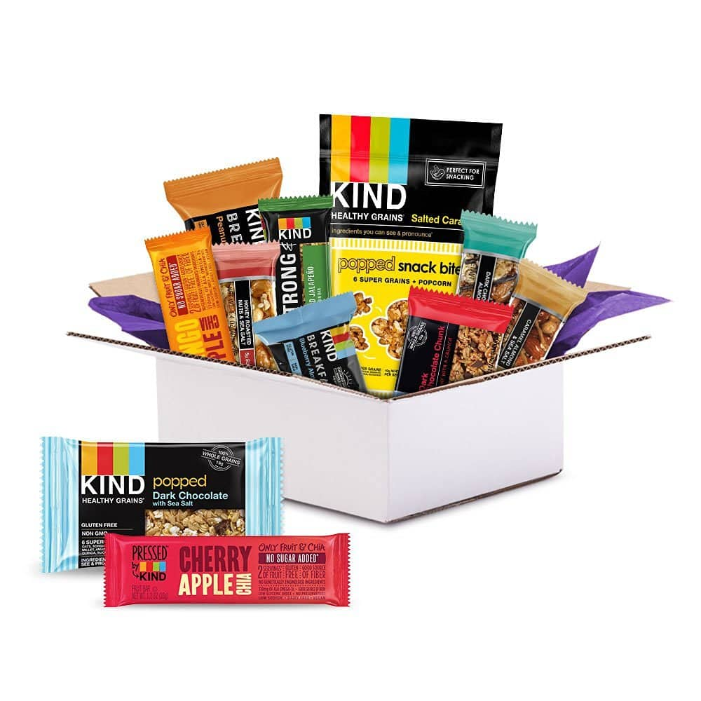 KIND Sample Box ($9.99 Credit With Purchase) $9.99 + Free Shipping (prime only)
