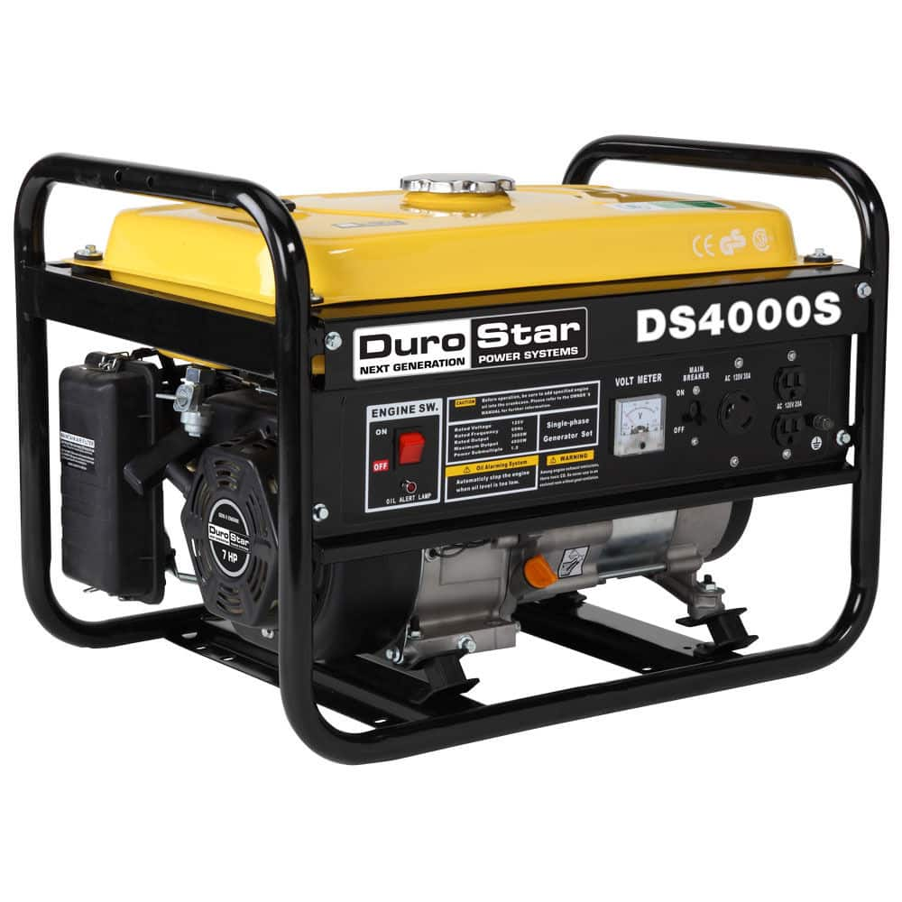 Durostar ds4000s gas powered 4000 watt portable generator $200 Fs via ebay