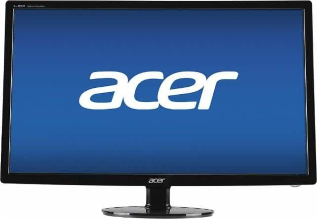 "27"" Acer S271HL DBID 1080p LED Monitor $139.99 + Free Shipping"